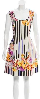 Alberta Ferretti Printed Mini Dress