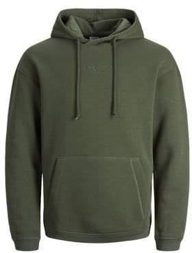 Jack and Jones Jortopipop Regular-Fit Hooded Sweatshirt