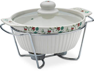 Pfaltzgraff 3-Pc. Winterberry Lidded Soup Tureen & Rack
