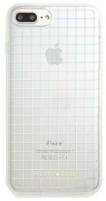 FELONY CASE Holographic Grid iPhone 6/6s/7/8 & 6/6s/7/8 Plus Case
