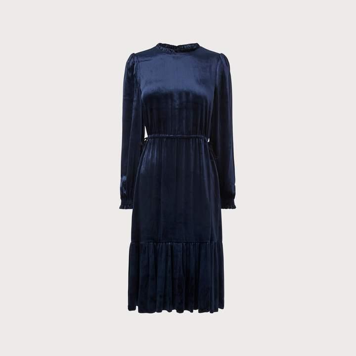 Noemi Navy Dress