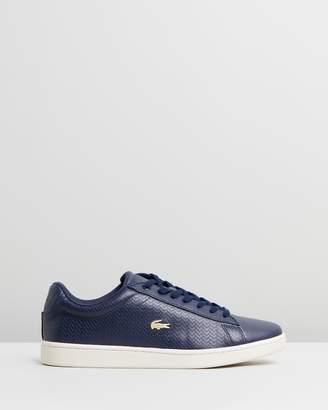 94b62619a Lacoste Blue Shoes For Women - ShopStyle Australia