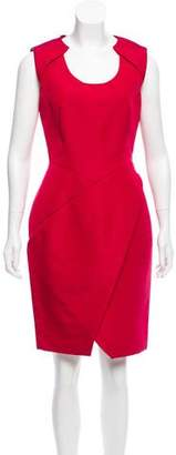 J. Mendel Sleeveless Knee-Length Dress