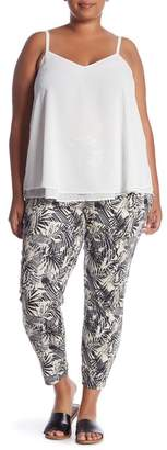 Hue Palm Tree Knit Leggings (Plus Size)