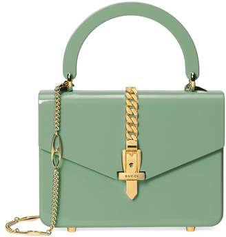 Gucci Sylvie 1969 Plexiglas mini top handle bag