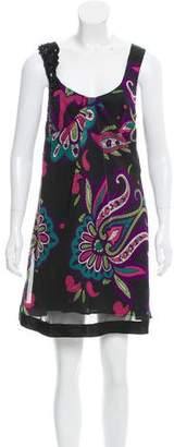 Etro Sleeveless Printed Floral Dress