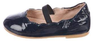 Bloch Girls' Patent Leather Ballet Flats