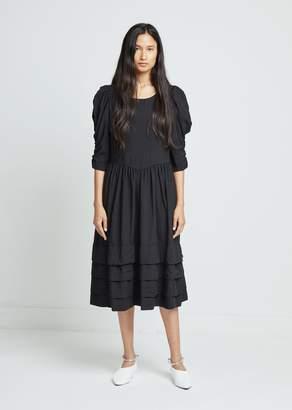 Comme des Garcons Polyester Spun Broad Garment Treated Dress