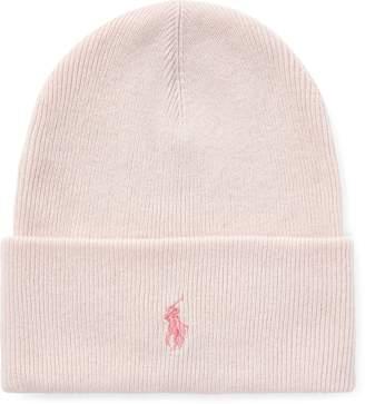 Ralph Lauren Pink Pony Wool-Cashmere Hat beb2d0b1e89b
