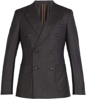 Prada Double-breasted wool suit jacket
