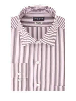 Van Heusen Regular-Fit Striped Dress Shirt