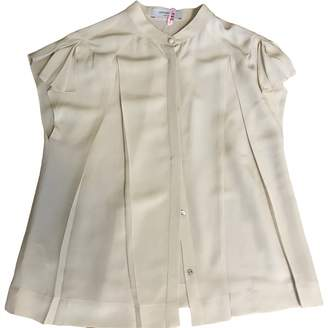 Viktor & Rolf Beige Silk Top for Women