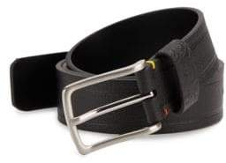 Robert Graham Textured Faux Leather Belt