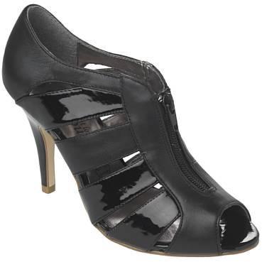 Zip Front Sandal
