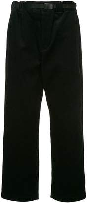 GUILD PRIME corduroy straight trousers
