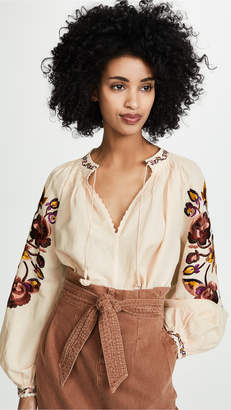 Ulla Johnson Simona Blouse