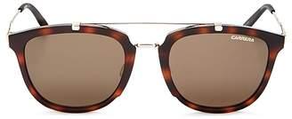Carrera Mixed Media Retro Square Sunglasses, 50mm $159 thestylecure.com