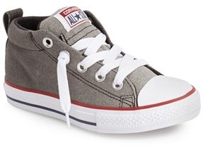 Boy's Converse Chuck Taylor All Star 'Ctas Street' Mid Sneaker $34.95 thestylecure.com