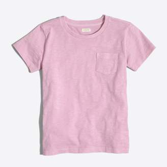 J.Crew Factory Kids' sunwashed garment-dyed pocket T-shirt