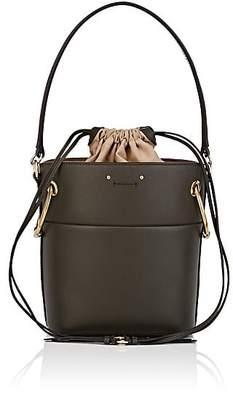 Chloé Women's Roy Leather Bucket Bag - Dk. Green
