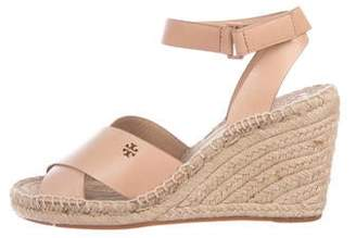7db1cda2fe Tory Burch Espadrille Wedge - ShopStyle