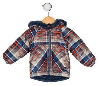 Patagonia Boys' Printed Hooded Jacket w/ Tags