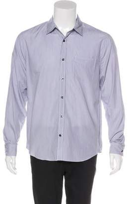Vince Striped Woven Shirt