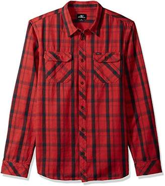 O'Neill Men's Carpenter Long Sleeve Button Up Shirt