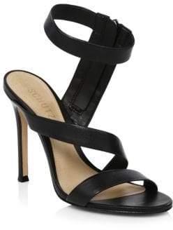 Schutz Lauanna Winding Strap Sandals
