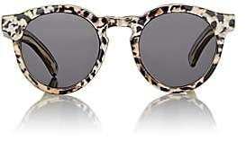 Illesteva Women's Leonard II Sunglasses-Leopard, Blk