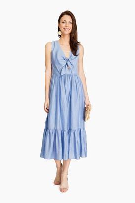 Shoshanna Sky Gilroy Dress $360 thestylecure.com