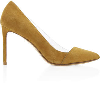 Francesco Russo PVC Suede Pump