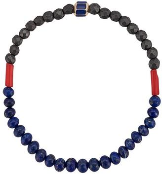 Luis Morais enamelled hexagon bracelet