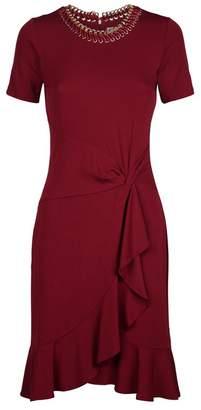 MICHAEL Michael Kors Embellished Twist Front Dress