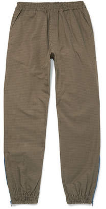 Très Bien Tapered Puppytooth Nylon-Twill Drawstring Trousers