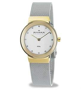 Skagen Slimline Stainless Steel Watch