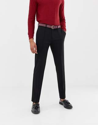 Selected smart tapered fit pant