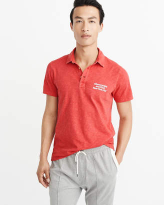 Abercrombie & Fitch Graphic Polo