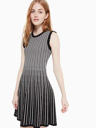 Kate Spade Textured sweater dress