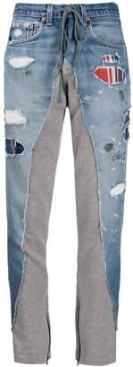 Greg Lauren Terry lounge jeans
