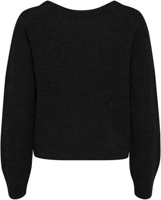 Ichi Knotted Textured Pullover