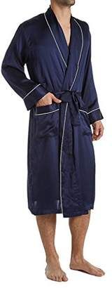 Geoffrey Beene Men's Silk Shawl Collar Robe