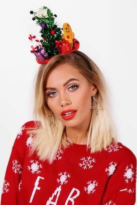 boohoo Christmas Scene Headband