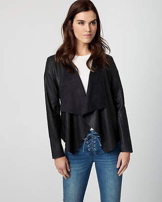 Le Château Leather-Like Waterfall Jacket