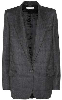Etoile Isabel Marant Isabel Marant, Étoile Igora plaid wool-blend blazer