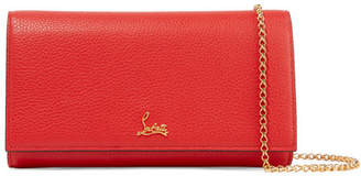 Christian Louboutin Boudoir Textured-leather Shoulder Bag - one size