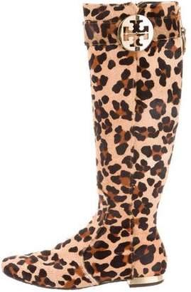 Tory Burch Knee-high Ponyhair Boots