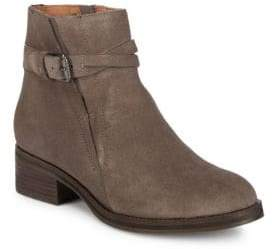 Gentle Souls Percy Buckle Suede Booties