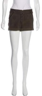 Alice + Olivia Mid-Rise Mini Shorts