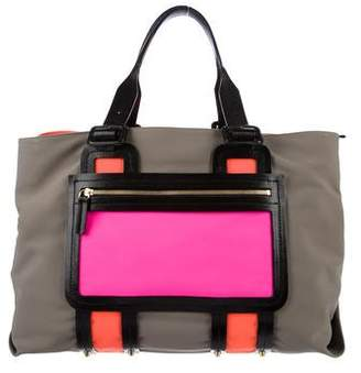 Pierre Hardy Leather-Trimmed Tote
